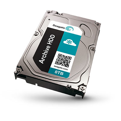 SEAGATE Archive 8TB HDD standard model 5900rpm SATA serial ATA 6Gb/s 128MB cache Power choice Technology 8,9cm 3,5Zoll