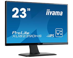 IIYAMA ProLite XUB2390HS-B1 58,4cm 23Zoll LED IPS 1920x1080 VGA DVI HDMI 250cd/m² Lautsprecher hoehenverstellbar Pivot schwarz