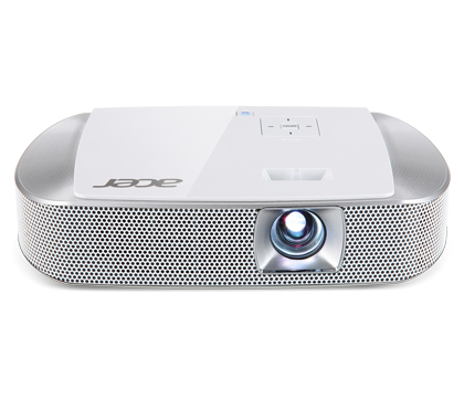 ACER K137i DLP LED Projektor 700 ANSI Lumen 3D ready WXGA 1280x800 10000:1 HDMI/MHL USB A WLAN Dongle inklusive