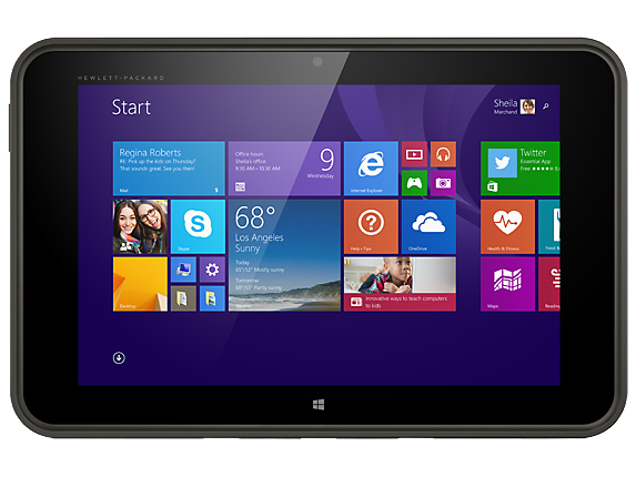 HP ProTablet 10 EE G1 Intel Atom Z3735F 25,7cm 10,1Zoll WUXGA Touch UMA 2GB 32GB WLAN BT W8.1PRO32 1J Gar. (DE)