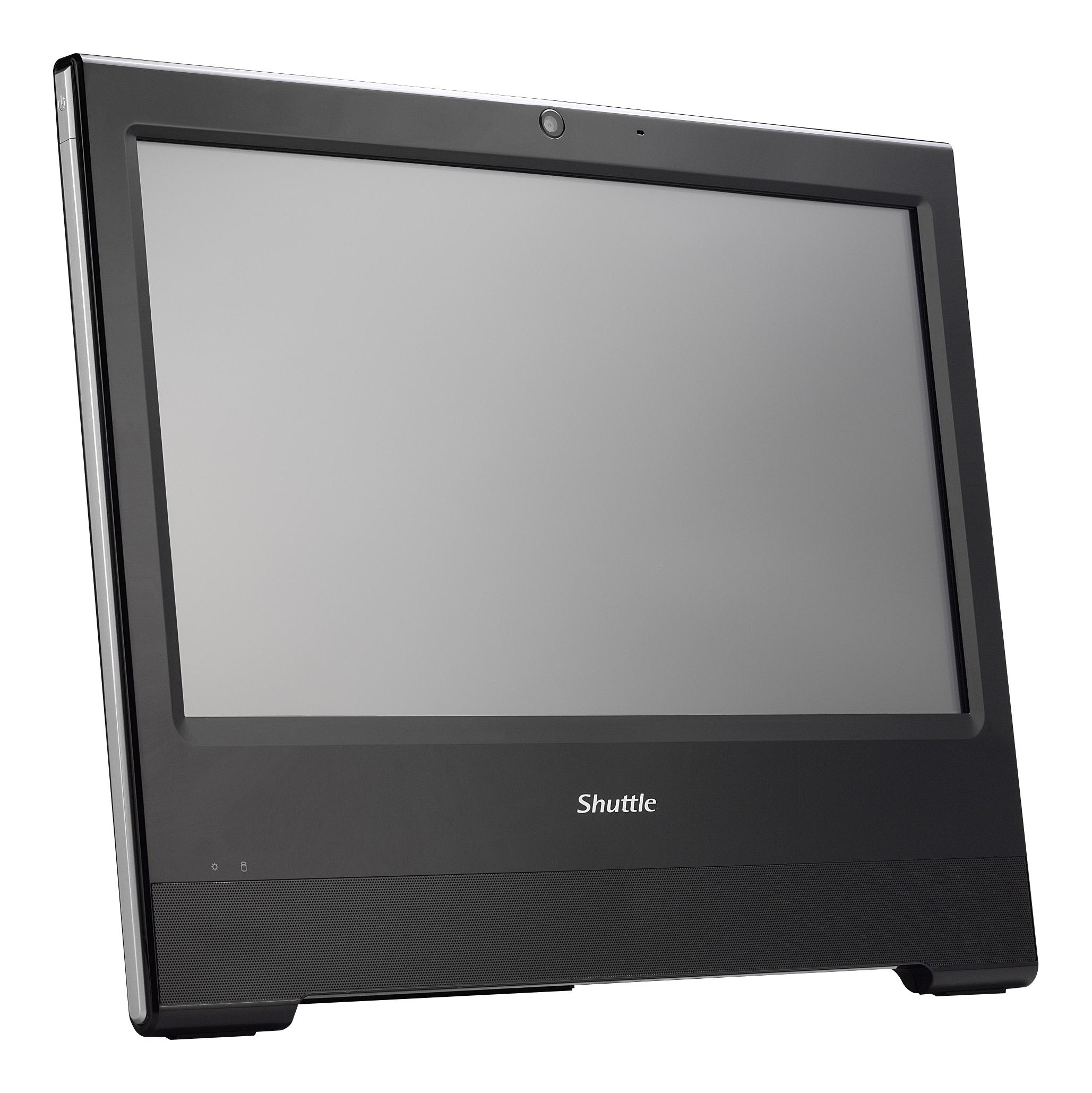 SHUTTLE XPC AiO X5040XA schwarz Celeron 2957U 4GB DDR3 500GB SATA 6.4cm HDD 2.5Zoll o.BS