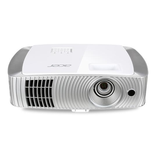 ACER H7550BD DLP Projektor 3000ANSI Lumen Full HD 1920x1080 16000:1 VGA HDMI 1.4a HDMI/MHL intern+extern inkl 2 Shutterbrillen