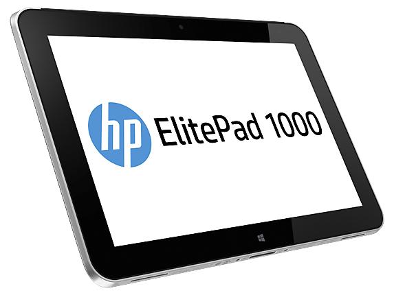 HP ElitePad 1000 G2 Healthcare Intel Atom Z3795 25,6cm 10,1Zoll WXGA Touch UMA 4GB 128GB WLAN BT W8.1PRO 1J. Gar. (DE)