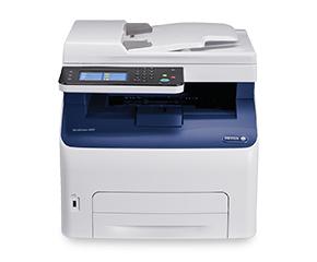 XEROX WorkCentre 6027NI MFP A4 LED Kopieren, E-Mail, Drucken, Scannen 18 Seiten/Min. Farbe / 18 Seiten/Min. 1200 x 2400dpi 150 Blatt