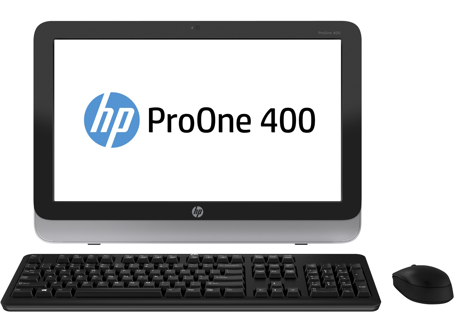 HP ProOne 400 19.5i LED AIO Intel Core i3-4160 4GB DDR3-1600 1TB Optical Disc Drive WLANabgn Win7Pro64+Win8.1PROlic 1/1/1