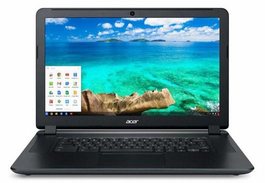 ACER Chromebook C910-354Y Black Core i3-5005U 39,6cm 15,6Zoll IPS FHD matt 4GB DDR3 32GB SSD Intel HD 5500 Google Chrome OS no ODD