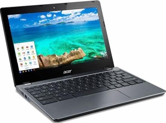 ACER Chromebook C740-C3DY Gray Intel CDC 3205U 29,5cm 11,6Zoll HD matt 2GB DDR3 32GB SSD Intel HD Grafik Google Chrome OS AC-WLAN BT