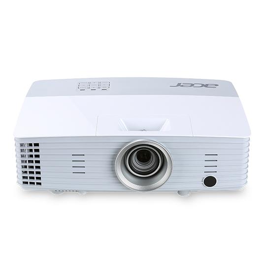 ACER P5227 DLP Projektor 4000ANSI Lumen XGA 1024x768 17000:1 VGA HDMI/MHL intern+extern LAN/RJ45 WLan optional