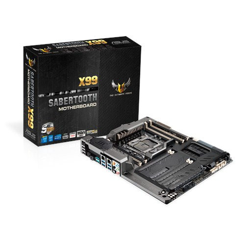 ASUS Mainboard SABERTOOTH X99 LGA2011-V3 8xDDR4 Raid USB3.1 ATX