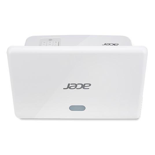 ACER U5320W DLP Kurzdistanz 3000ANSI Lumen 3D ready WXGA 1280x800 13000:1 2x HDMI 2x D-Sub Cinch-Video RS232 hidden port  HDMI/MHL