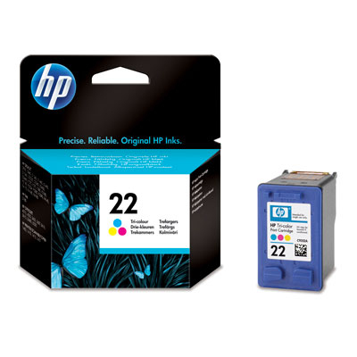 HP 22 Ink C9352AE color
