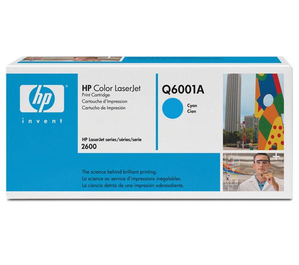 Toner HP LJ2600       cyan        Q6001A    2000 Seiten