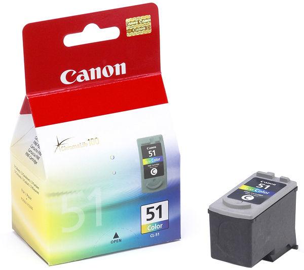 CANON CL-51 Tinte farbig hohe Kapazität 21ml 560 Seiten 1er-Pack