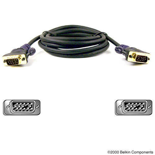 Kabel Belkin Gold Series VGA Monitor Signal Replacement Cable 3m