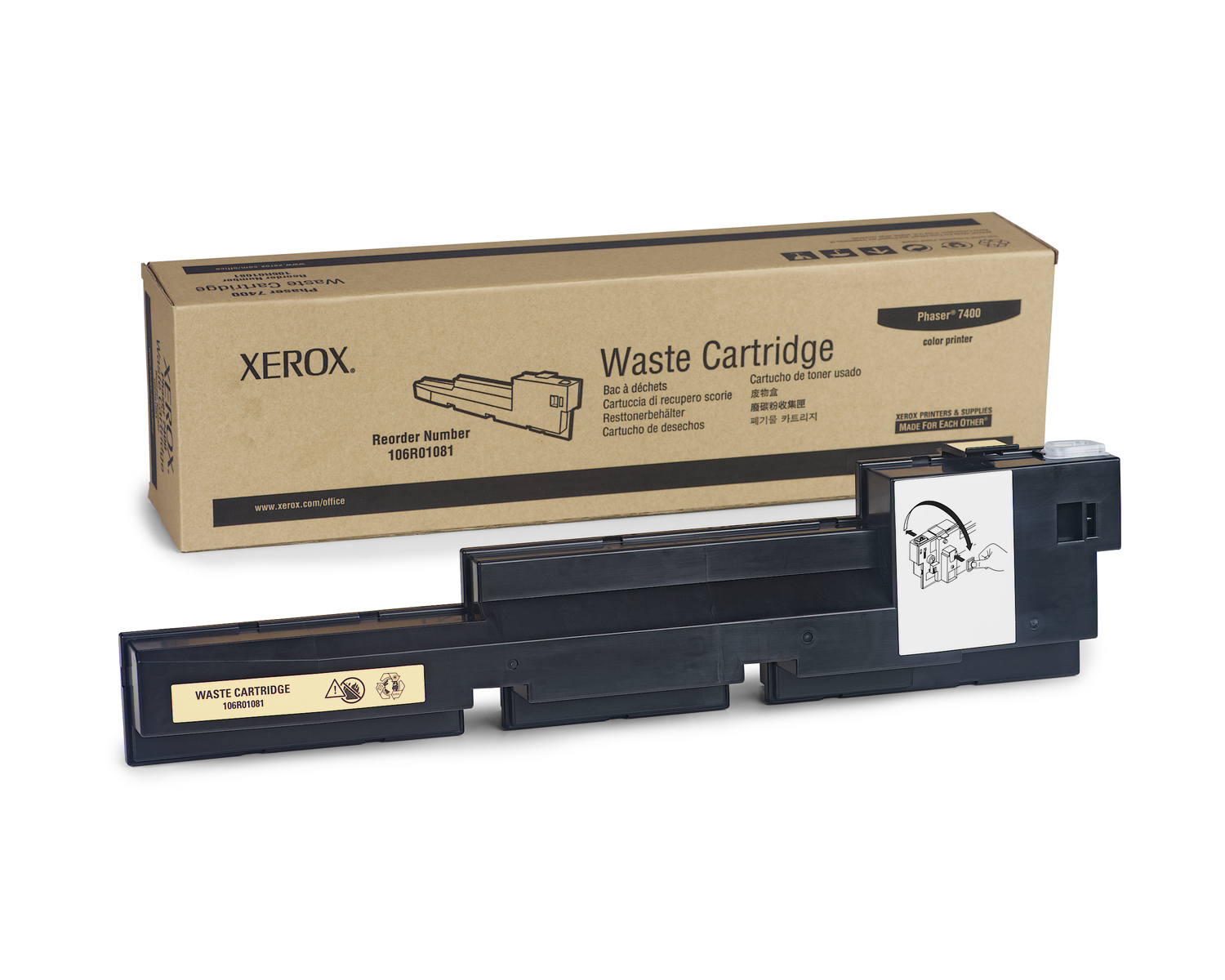Xerox 106R01081 30000pages toner collector