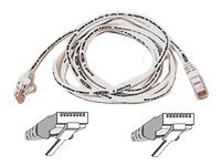 Belkin High Performance - Patch cable - RJ-45(M) - RJ-45(M), 2m, UTP ( CAT 6 ) - white