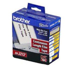 BROTHER P-Touch DK-22212 weiss continue length film 62mm x 15.24m
