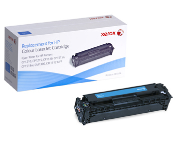 XEROX XRC Toner cyan fuer HP Color LJCP1215 CP1515 CP1518 alternativ zu CB541A 1400Seiten