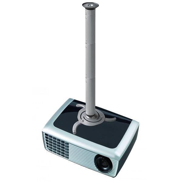 NEWSTAR BEAMER-C200 Deckenhalterung universelle Halterung fuer Beamer und Projektoreneinstellbare Hoehe 8 cm bis 98 cm