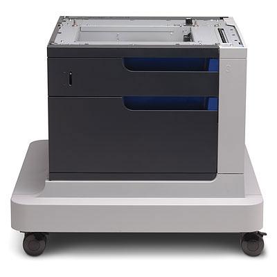 HP 1x500 Papierzufuehrung mit Schrank - Unterschrank fuer Colorlaserjet CP4525N CP4525DN