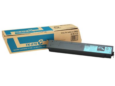 KYOCERA TK-875C Toner cyan für 30.900 Seiten gem. ISO/IEC 19752