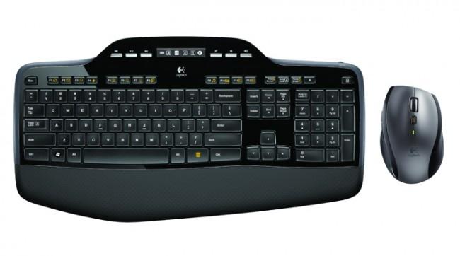 Logitech Desktop MK710 Wireless [ES] black