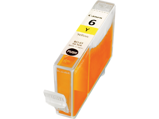 CANON BCI-6Y Tinte gelb Standardkapazit�t 13ml 1er-Pack