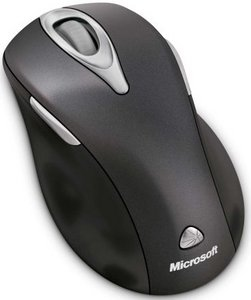 PC, Metallic Black, Wireless Laser Mouse 5000 (USB)