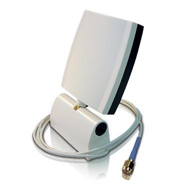 ZYXEL ZyAIR EXT-106 6 dBi Directional Patch Antenna Indoor Externe Antenne 802.11b/g mit spitzem Abstrahlbereich WLAN