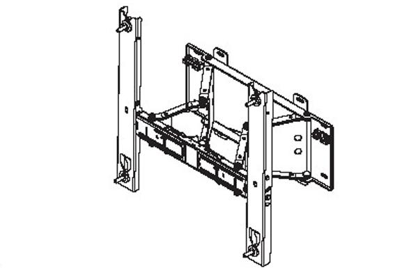 SAMSUNG Wall mount 400EX 460EX 550EX horizontal/Vertikal