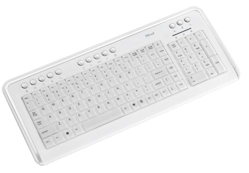 PC, Trust Wired Keyboard, KB-1500 Illuminated Keyboard