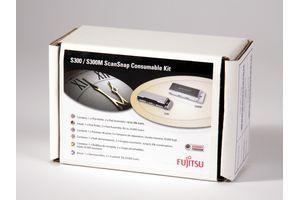 FUJITSU Consumable Kit S1300/S1300i/S300 models 1xPickRoller 2xPadAssy