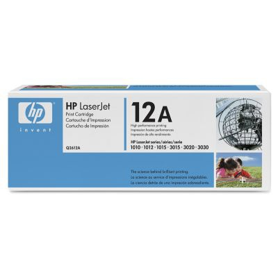 Toner HP LJ1010       black       Q2612A