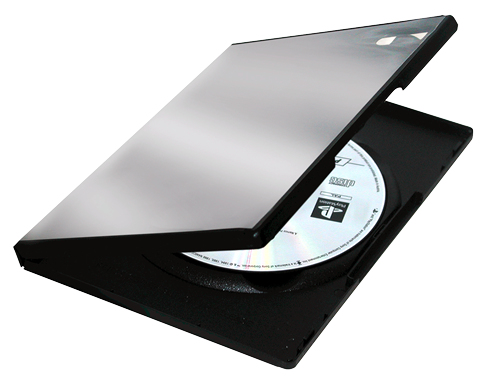 DVD Doppelleerhülle Fellowes 5er Pack