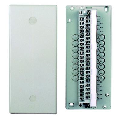 3M Verteiler VKK 2 Kunststoff 50-520-01000 2er-Pack 204174 f. max. 1x Leiste LSA+1 20DA