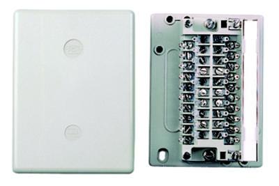 3M Verteiler VKK 1 Kunststoff 50-510-11000 3er-Pack 204172 f. max. 1x Leiste LSA+1 10DA