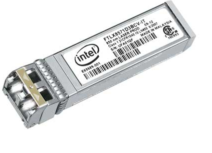 INTEL E10GSFPSR optical Module Dual Rate 10GBase-SR 1000Base-SX SFP+ SR