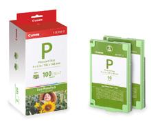 CANON E-P100 Foto Papier inkjet 100x148mm 100 Blatt with ink cartridge for Selphy ES