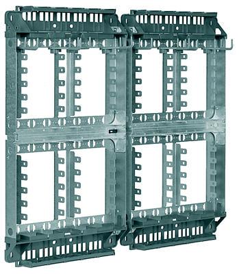 3M VKA12/LSA2 o. Leisten 52-301-00300 f. max. 480 DA / LSA+1 20DA f. max. 400 DA / LSA+2 10DA Masse HxBxT: 550x665x125 mm