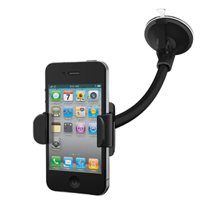 Base per auto a facile rilascio (compatibile con Iphone e Ipod Touch)