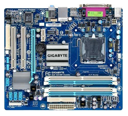 Gigabyte G41M Combo DDR2+DDR3 µ