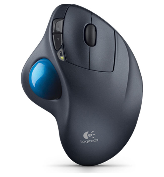 LOGITECH M570 cordless Trackball black USB - EER2