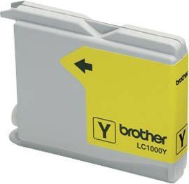 BROTHER LC-1000 Tinte gelb Standardkapazit�t 400 Seiten 1er-Pack