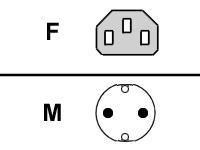 FUJITSU Leitung Netzanschluss (DE)(AT)(BE)(FR)(FI)(NO)(CH)(ES)(PL)(RU)(TR) 1,8m grau