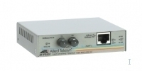 Allied Telesis 10/100TX Fast Ethernet to 100FX (SC) multimode converter