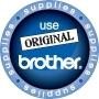 BROTHER 10x DKCL99 Reinigungsblatt fuer QL550 QL500