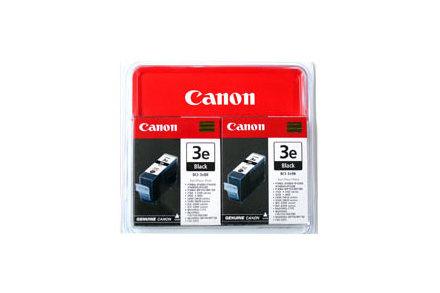 CANON BCI-3EBK Tinte schwarz Standardkapazit�t 2er-Pack