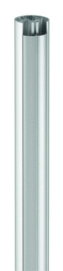 VOGELS PUC 2108 Rohr 80cm silber doppelte Kabelfuehrung max.30kg