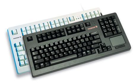Tas CHERRY G80-11900LTMDE-2 schwarz mit Touchpad PS2