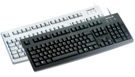 CHERRY Standard Keyboard USB black (DE)